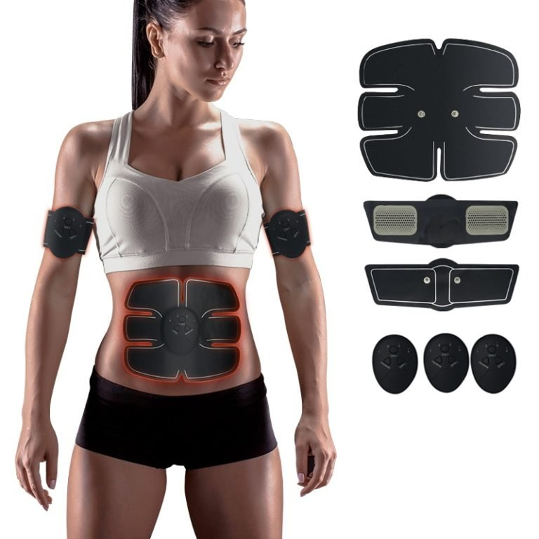 Электрический стимулятор ems trainer для мышц пресса и похудения