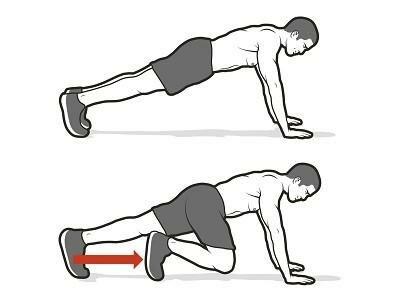 6 вариантов упражнения «скалолаз» для идеального пресса :: фотокомплексы :: «живи!»