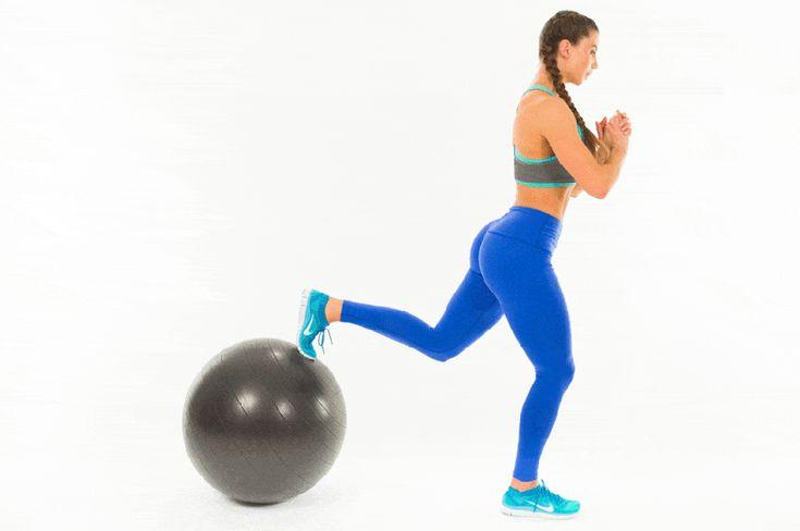 Упражнения на мяче для похудения живота и ног в домашних условиях
