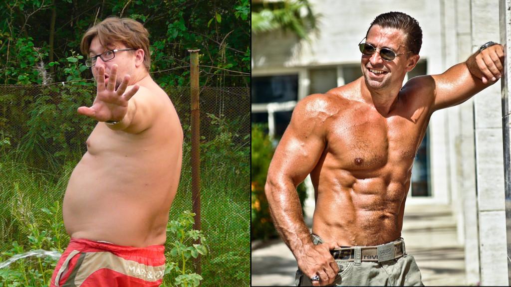 Кому легче накачаться толстому или худому