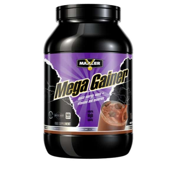 Преимущества и состав углеводно-белкового гейнера mega gainer от maxler