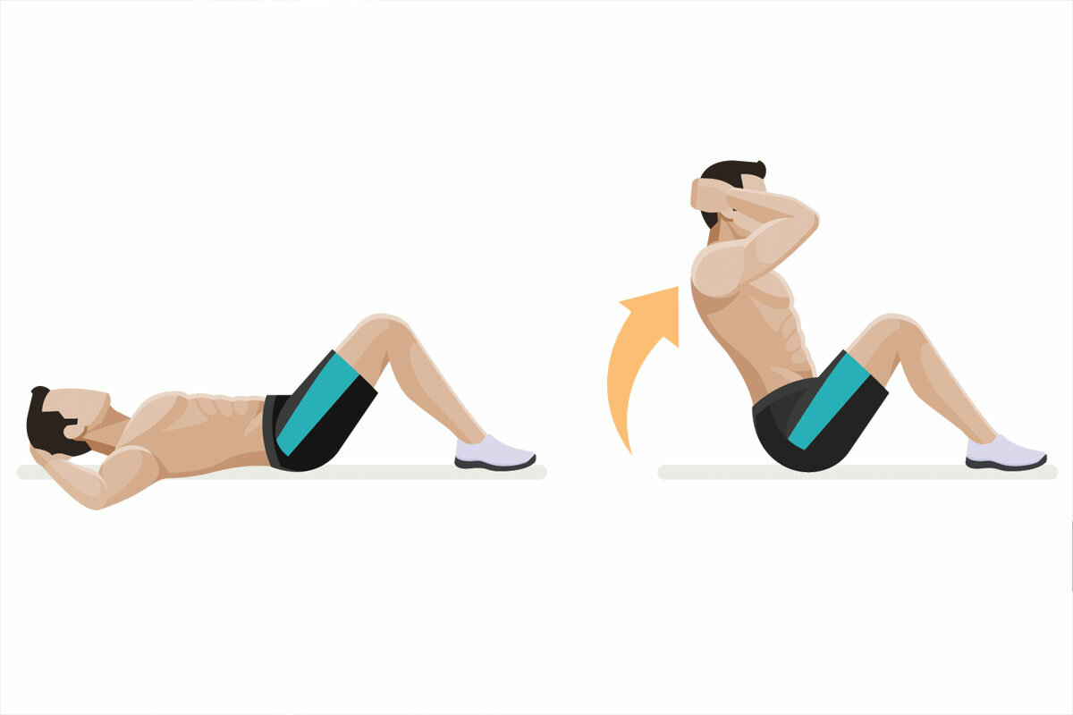 Упражнение складка: как научиться делать упражнение для пресса