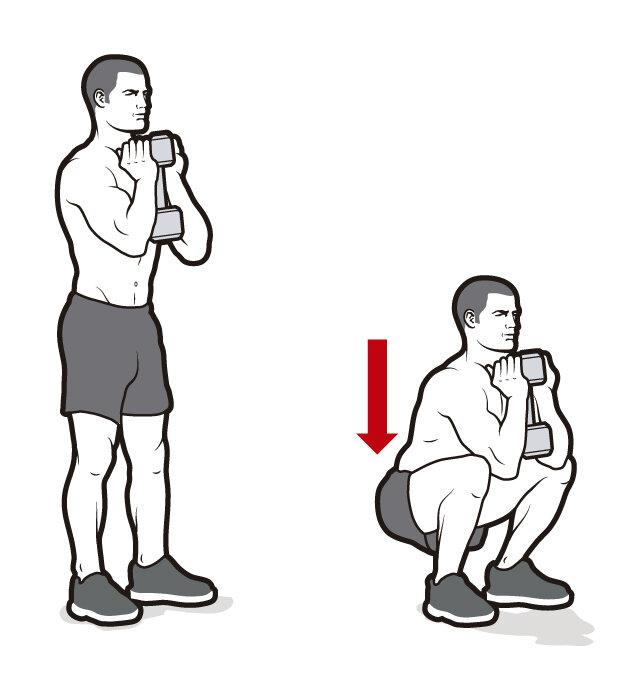 Приседание плие с гантелей: техника выполнения, какие мышцы работают