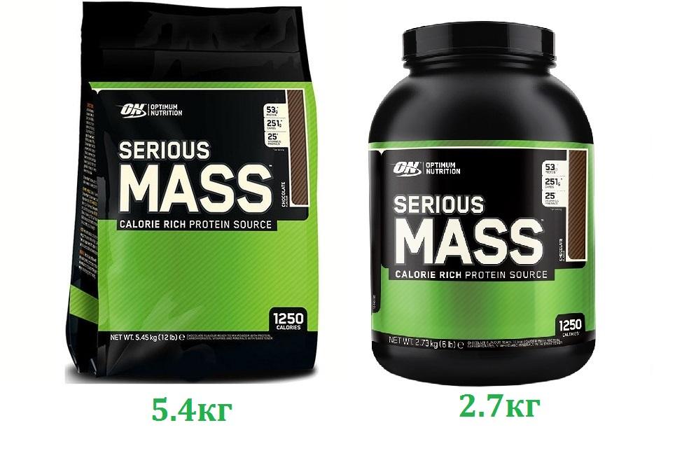 Гейнер serious mass— состав и нюансы употребления