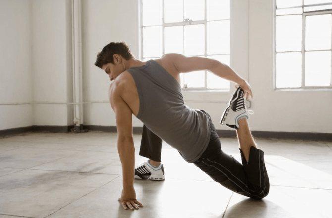 Разминка перед тренировкой — особенности выполнения