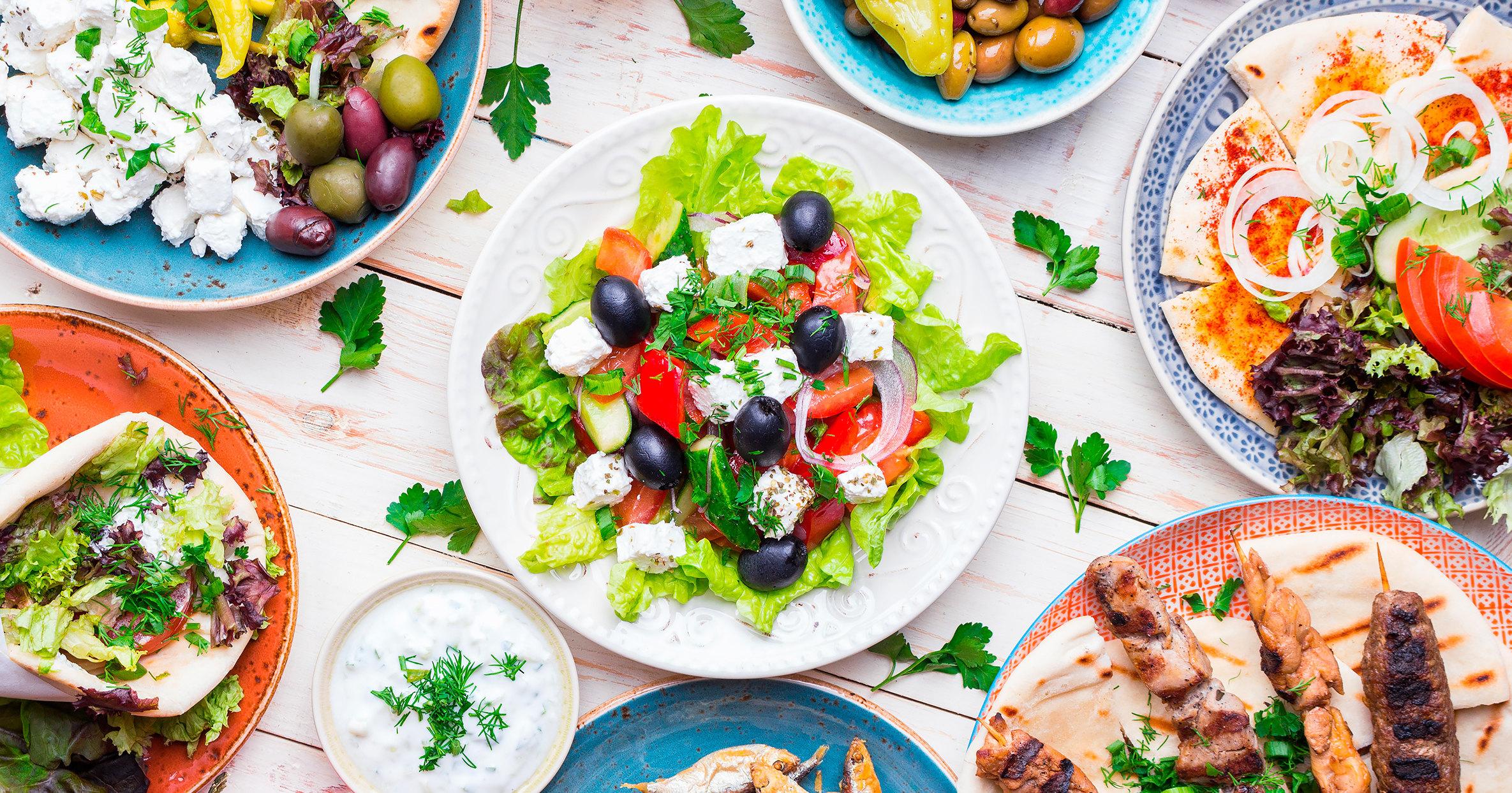 Средиземноморская диета: руководство и меню для желающих похудеть