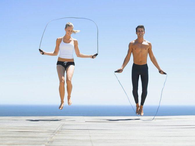 Прыжки на месте для похудения дома без скакалки: как прыгать и сколько калорий сжигается?