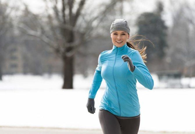 Как и в чем бегать зимой?