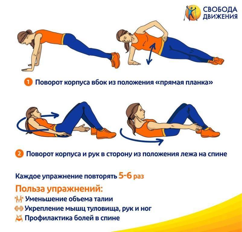 Как быстро уменьшить талию: лучшие упражнения