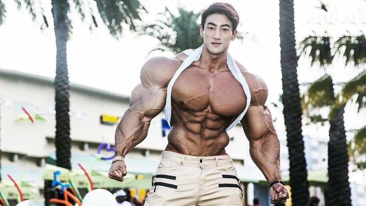 """Чул сун: """"бодибилдер-мутант"""" из южной кореи"""