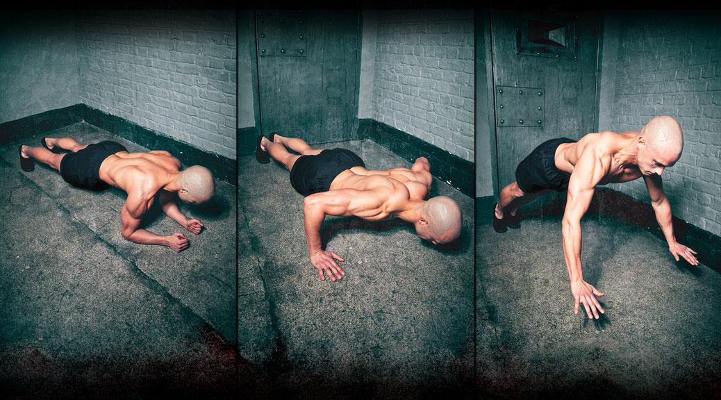 Тренировки в маленьких помещениях или workout заключенного