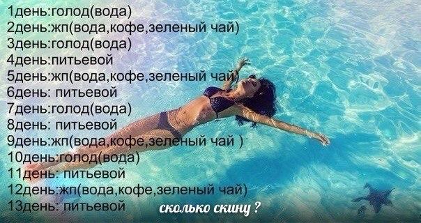 » водная диета