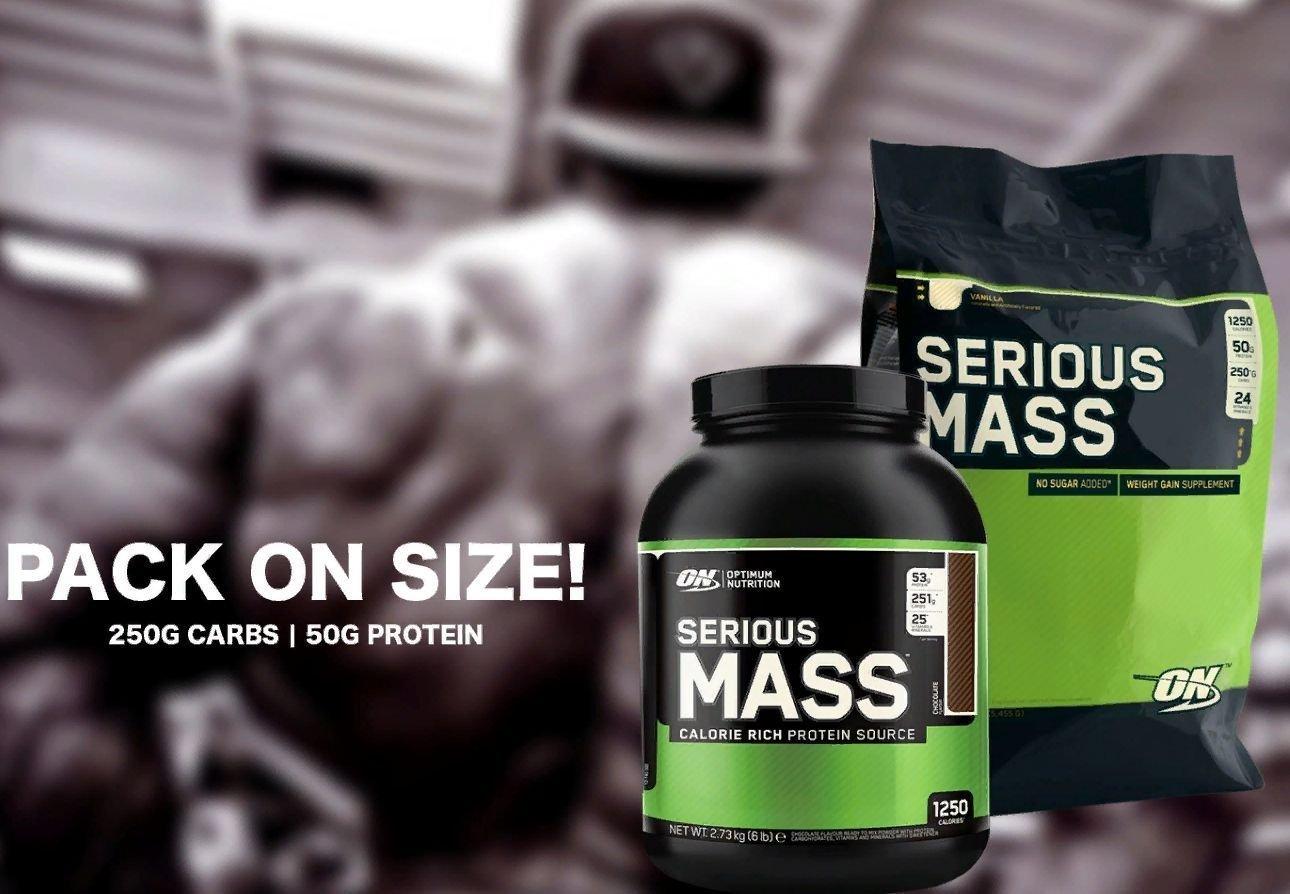 Гейнер serious mass от optimum nutrition