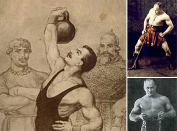 Изометрические упражнения с собственным весом