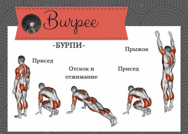 Лучше бёрпи может быть только бёрпи, что это такое и техника выполнения | rulebody.ru — правила тела