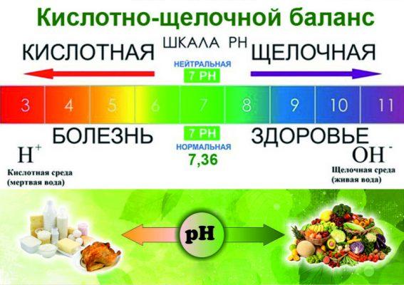 Основы правильного питания. щелочная диета.