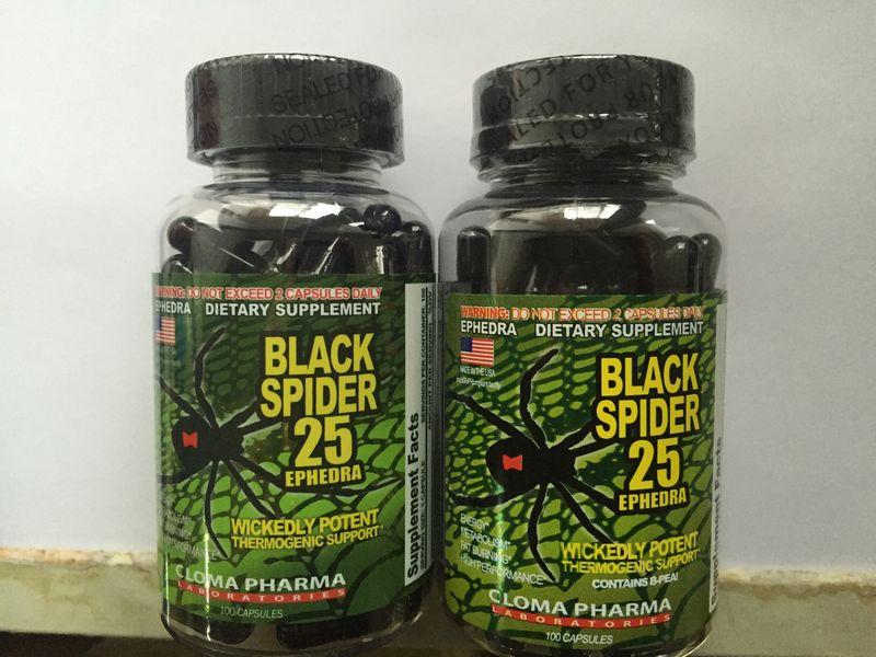 Black spider 25 ephedra: отзывы и рекомендации, назначение, форма выпуска, особенности приема, дозировка, состав, показания и противопоказания