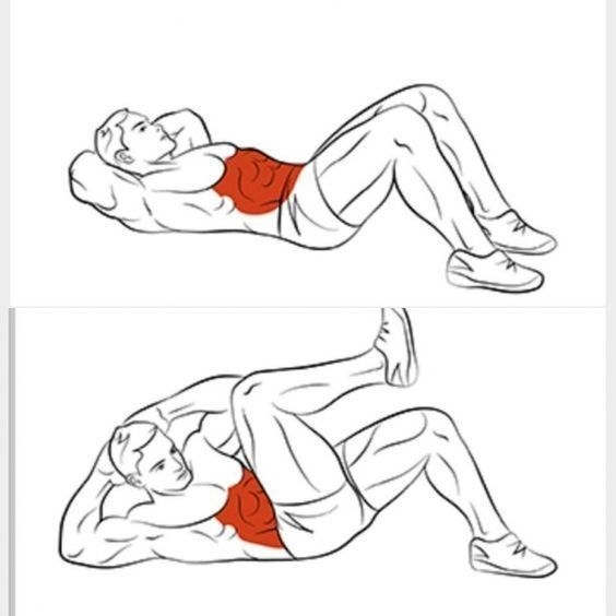 Упражнения на нижний пресс: 14 упражнений, чтобы накачать нижний пресс