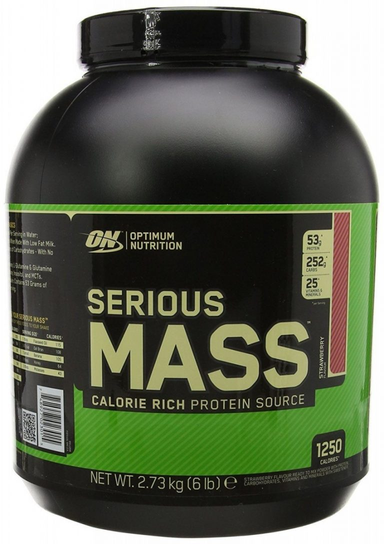 Гейнер serious mass от optimum nutrition