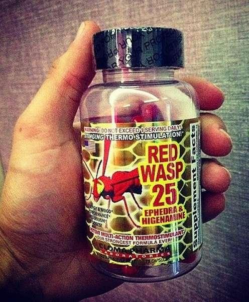 Жиросжигатель red wasp cloma pharma - как принимать?
