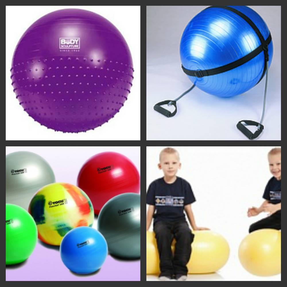 Большой мяч для фитнеса: практические рекомендации как выбрать фитбол (100 фото)