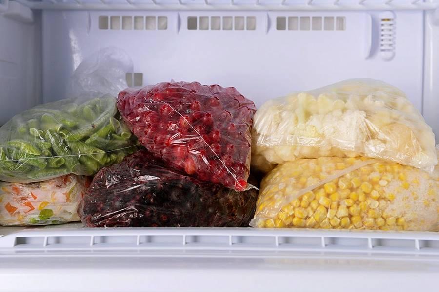 Какие продукты можно замораживать: инфографика
