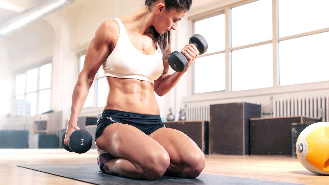 Фитнес дома видео упражнения для похудения для начинающих