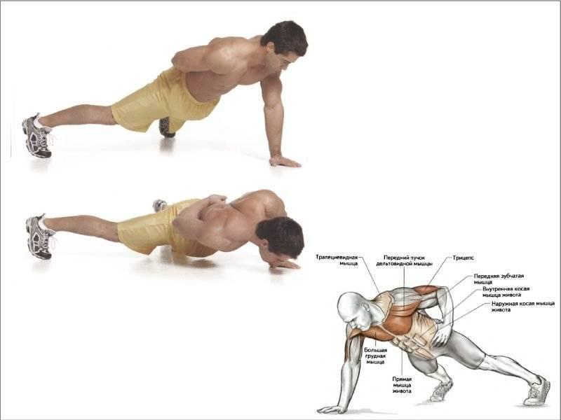 Как отжиматься, чтобы накачать грудные мышцы?