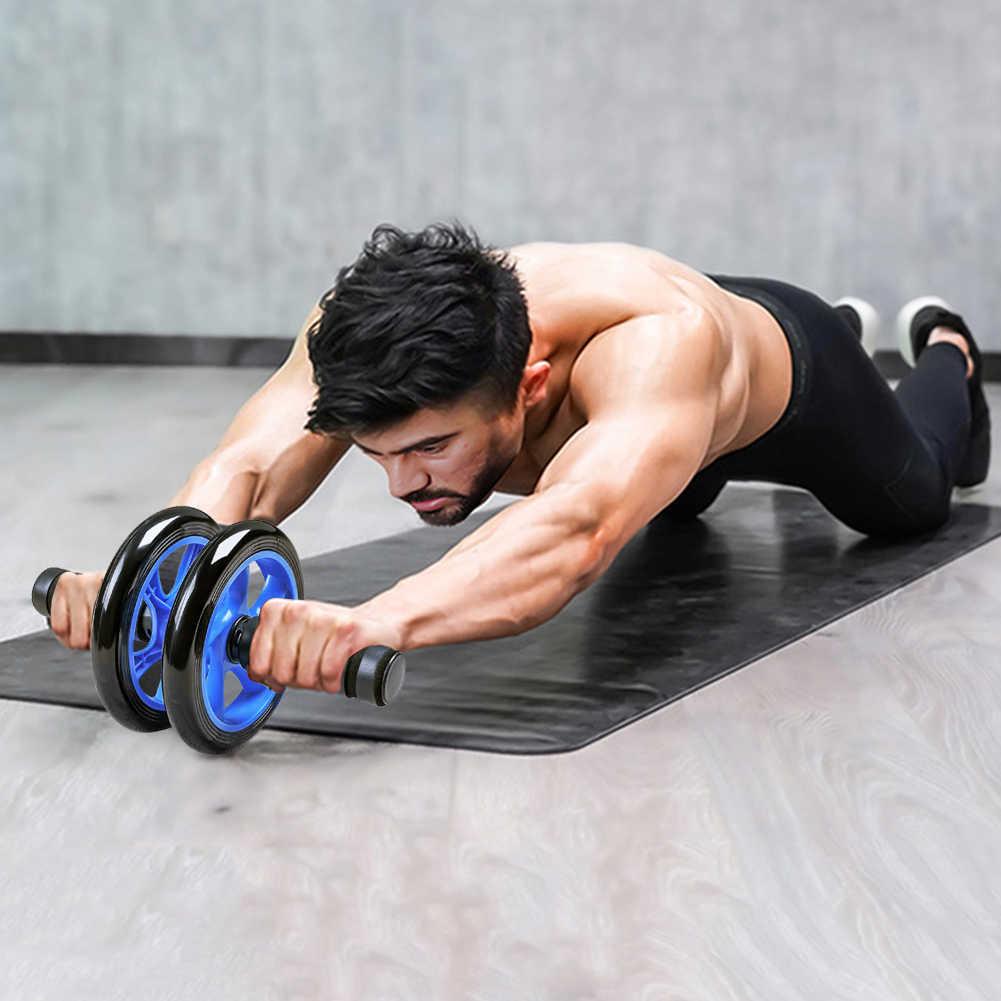 Упражнения с гимнастическим роликом для пресса
