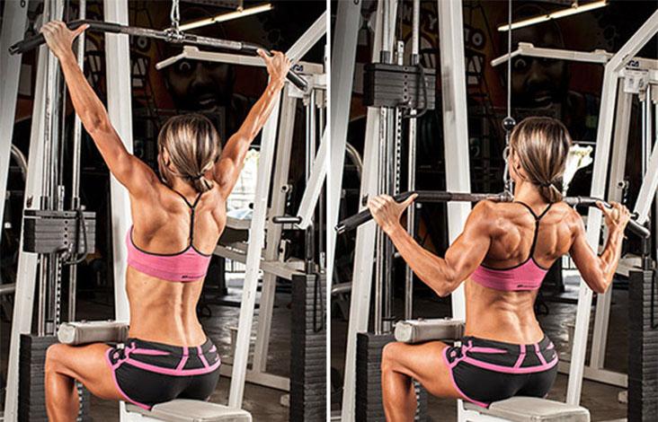 Подтягивания узким хватом: техника выполнения, какие мышцы работают