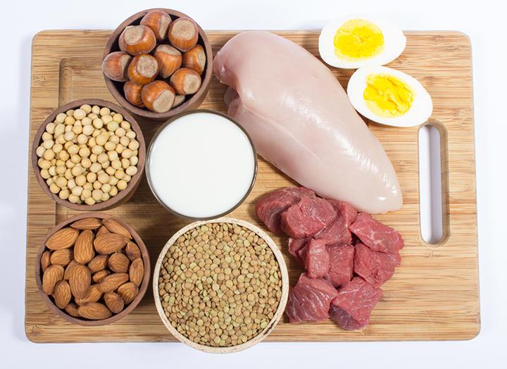 Белковая пища - список продуктов и меню на неделю