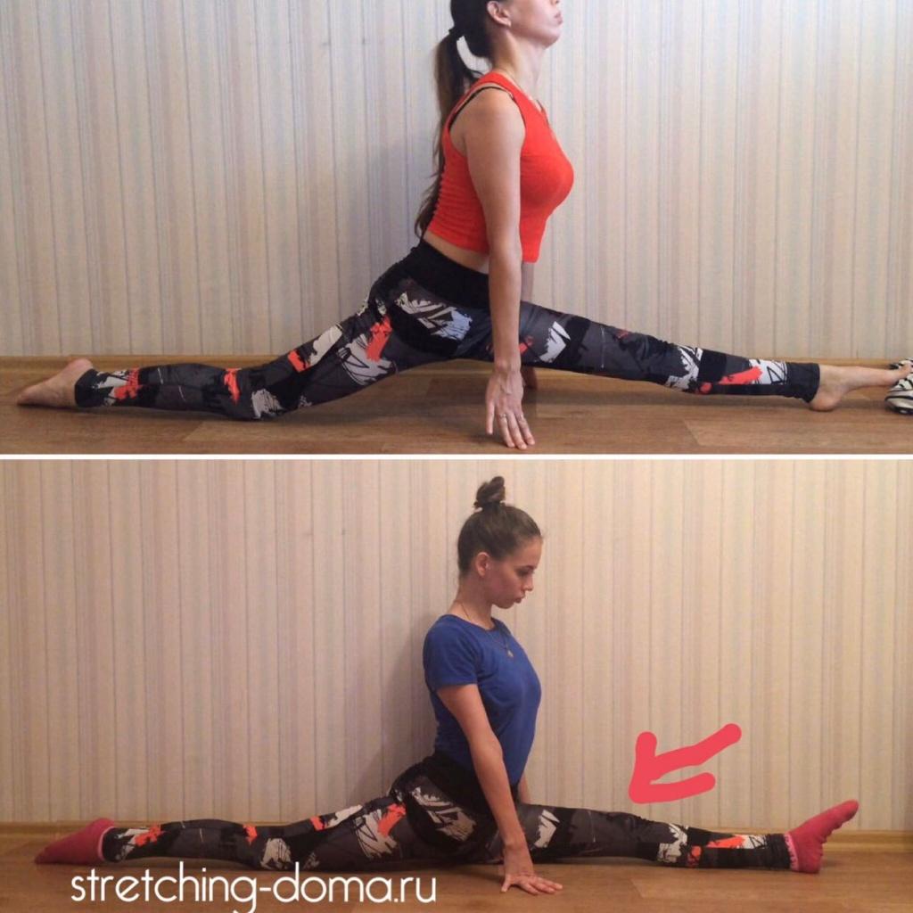 Комплекс эффективных упражнений для шпагата в домашних условиях