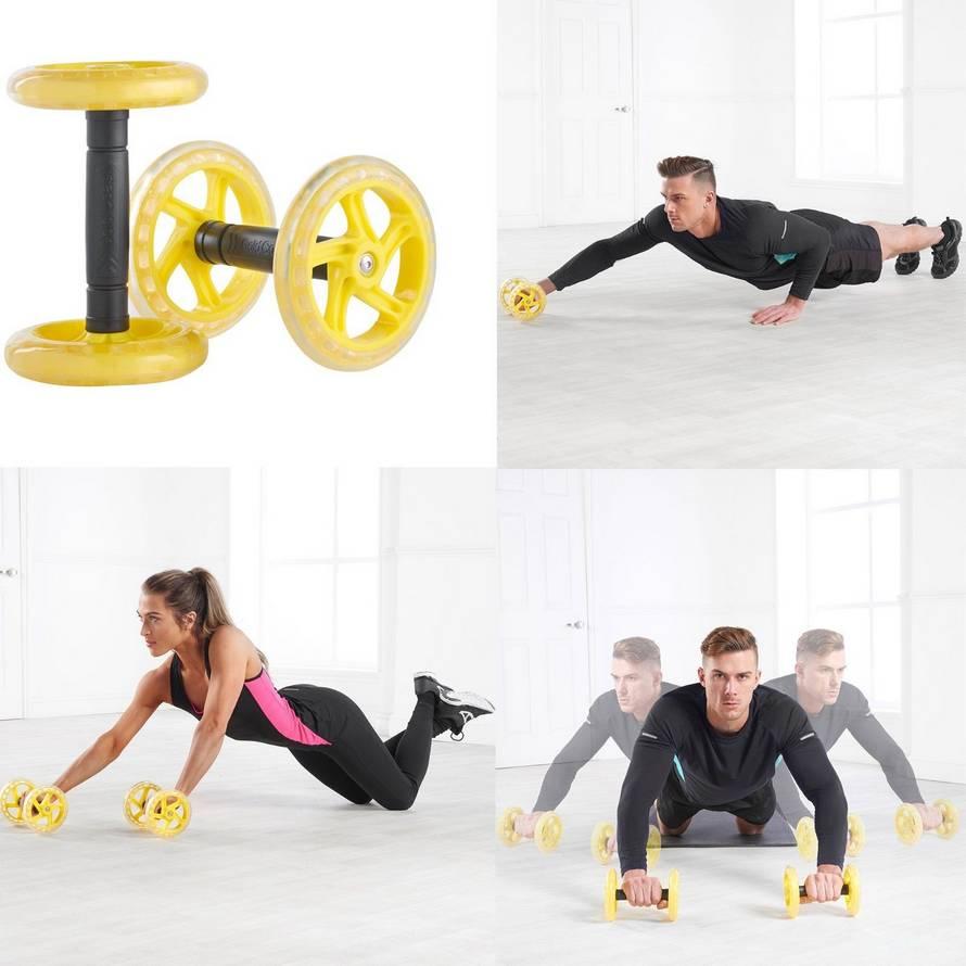 Упражнения с колесом для пресса