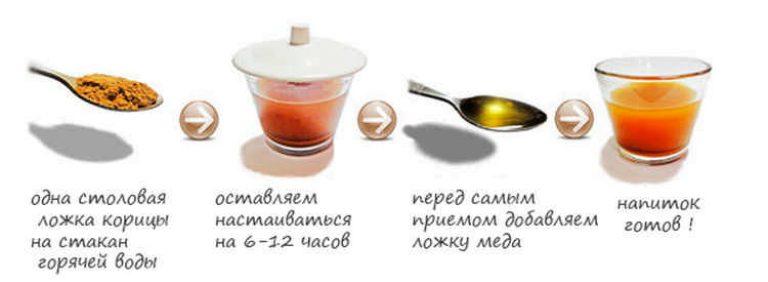 Корица и мед для похудения - рецепт, результаты и отзывы