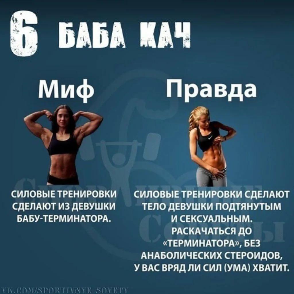 Мифы о фитнесе | proka4aem.ru