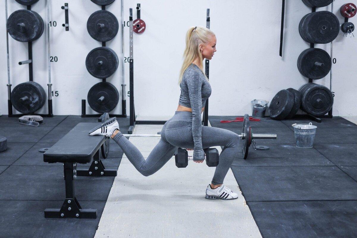Болгарские приседания — sportfito — сайт о спорте и здоровом образе жизни