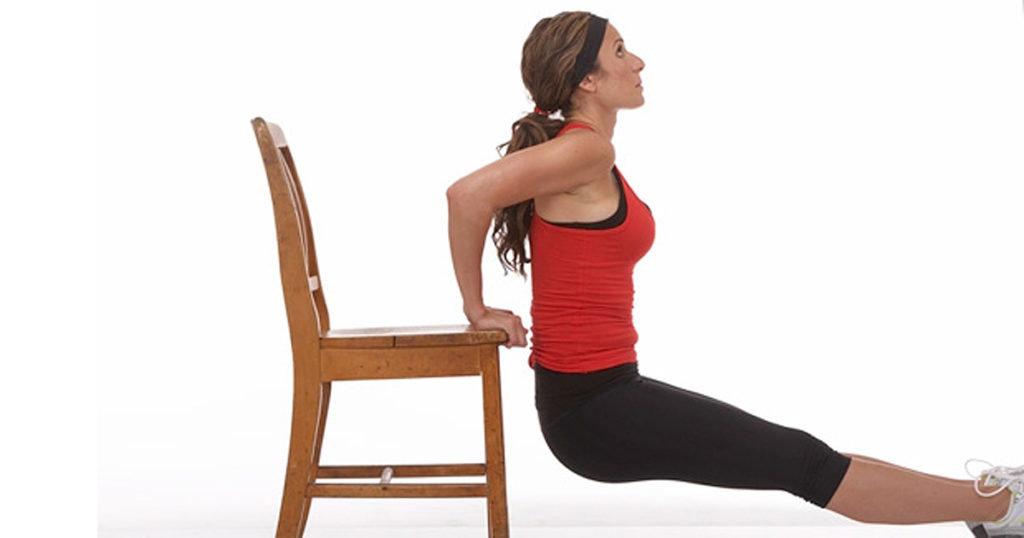 Упражнения для трицепсов для девушек в домашних условиях