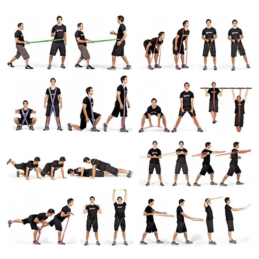 Эффективные комплексы упражнений с эластичной лентой