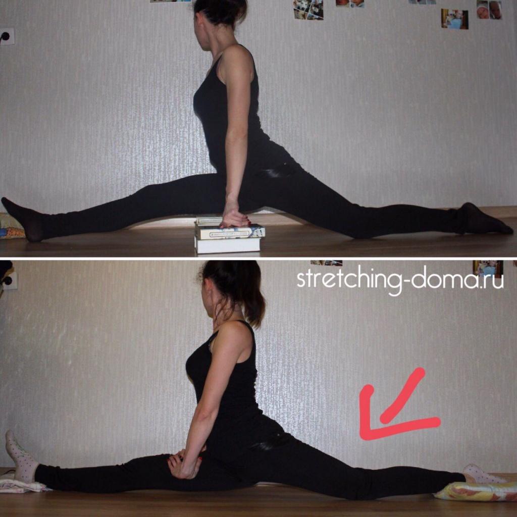 Продольный шпагат: упражнения в домашних условиях + фото результата