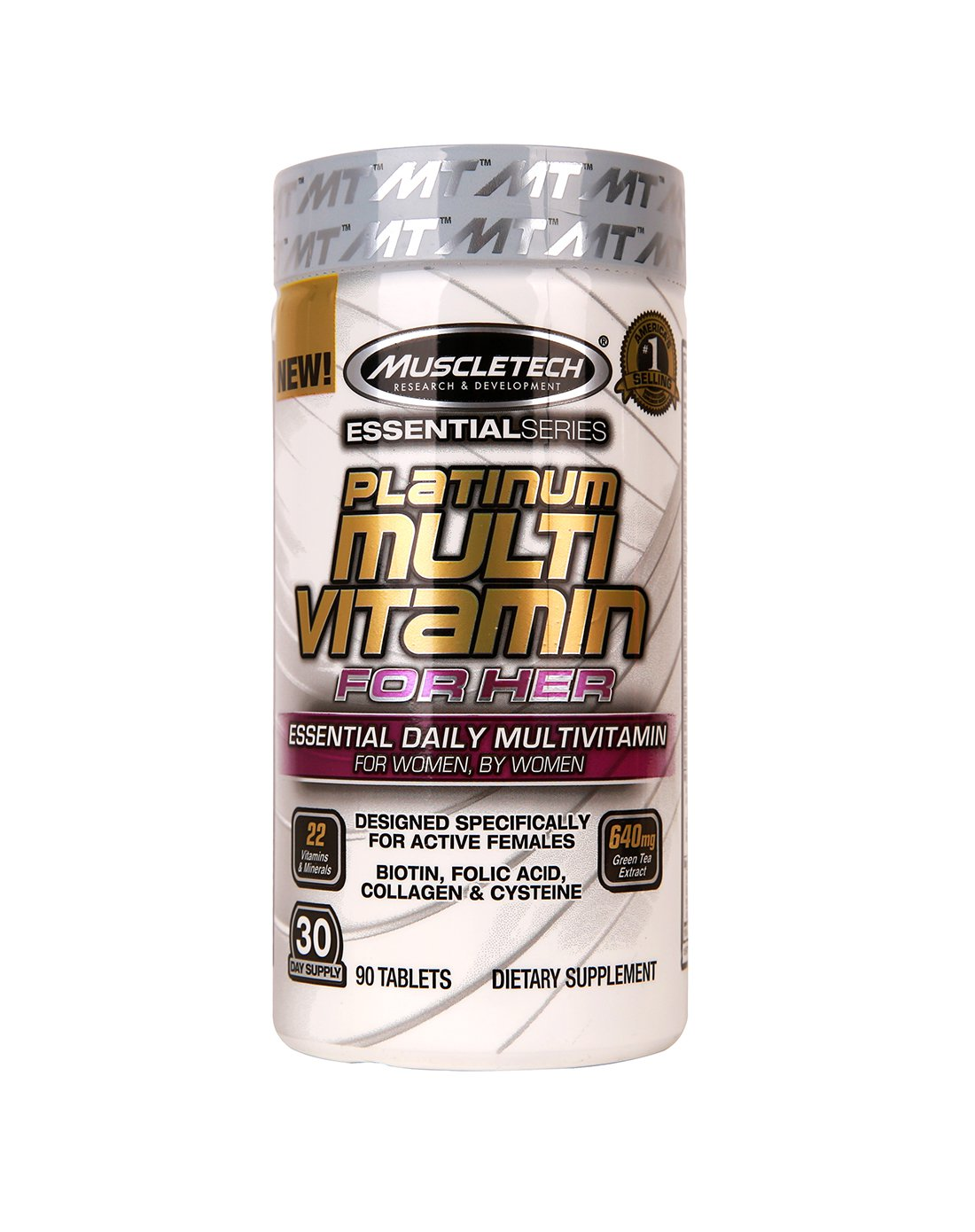 Platinum multi vitamin 90 таб. muscletech