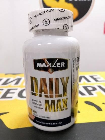 Daily max от maxler: как принимать витамины, отзывы и состав - тело атлета