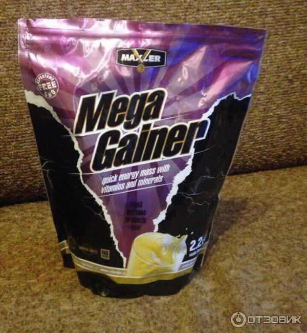 Mega gainer maxler побочные действия