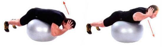 Упражнение для проработки мышц нижней части спины – гиперэкстензия
