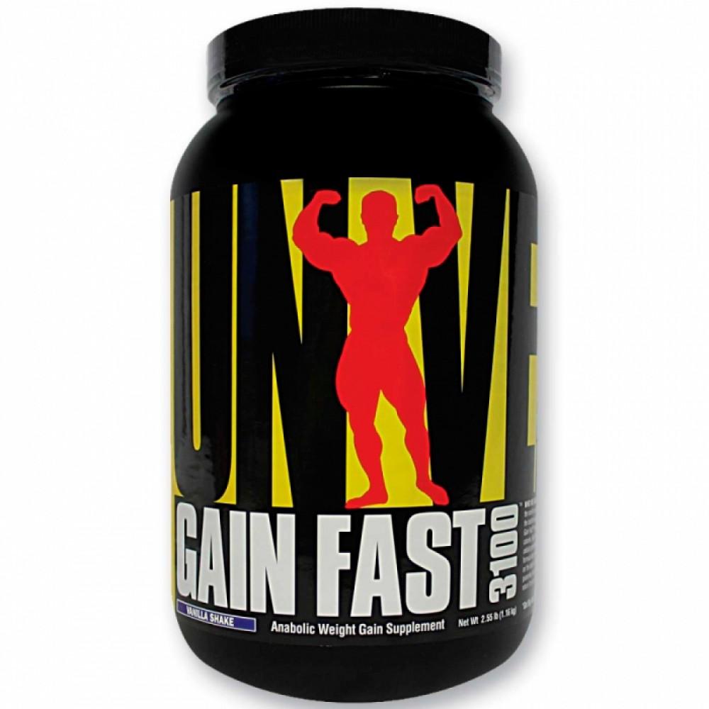 Gain fast 3100 от universal nutrition как принимать состав и отзывы