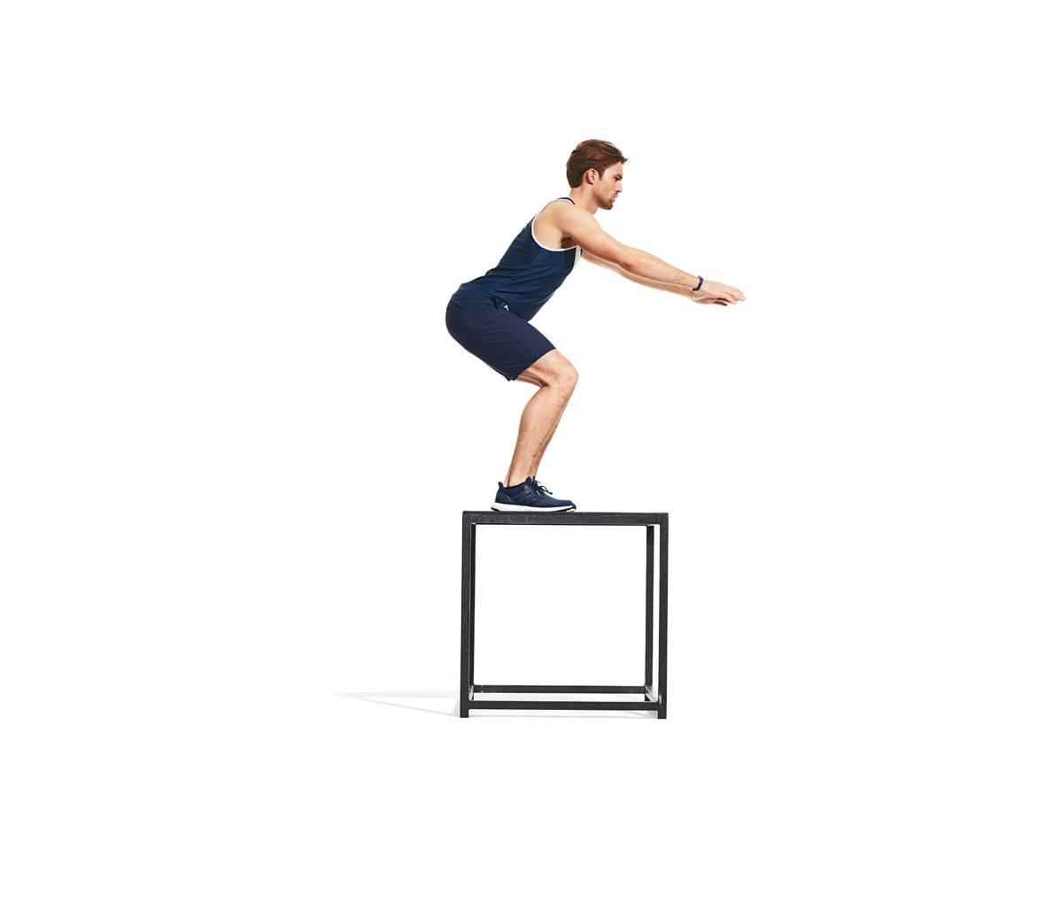 Прыжки на тумбу (коробку) в кроссфите: техника выполнения упражнения