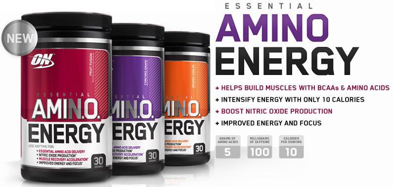 Amino energy naturally flavored 225 гр (optimum nutrition) - купить - под заказ - купить спортивное питание в интернет-магазине москва. cпортпит