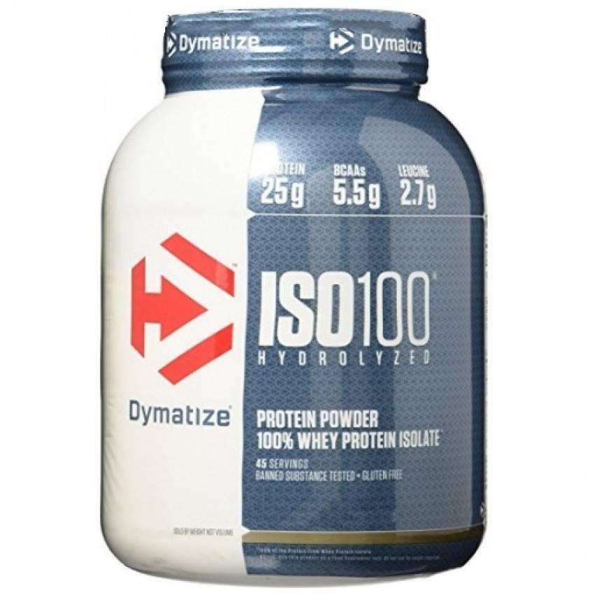 Iso-100 от dymatize - спортивное питание на dailyfit