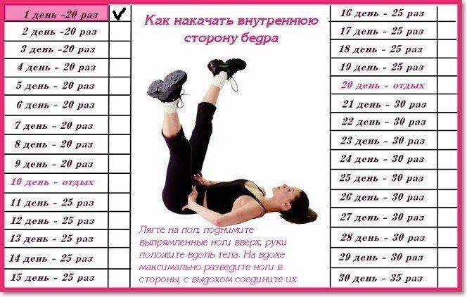 Как накачать ноги девушке: лучшие упражнения в тренажерном зале и домашних условиях