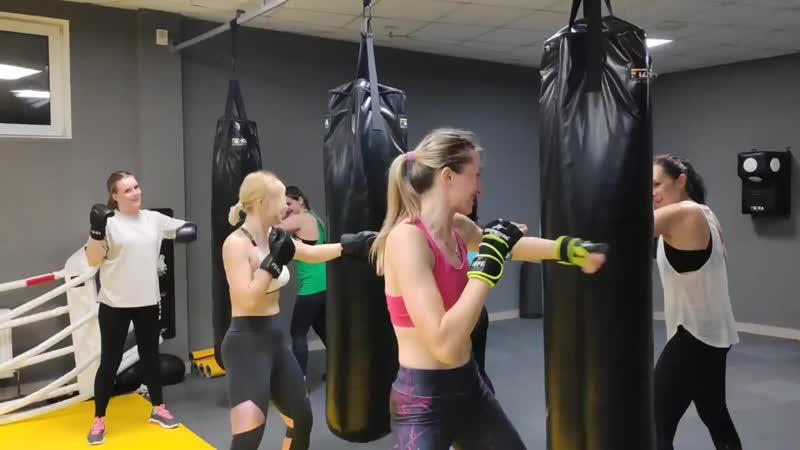 Фитбокс – аэробная нагрузка и элементы неконтактного боя в одной тренировке