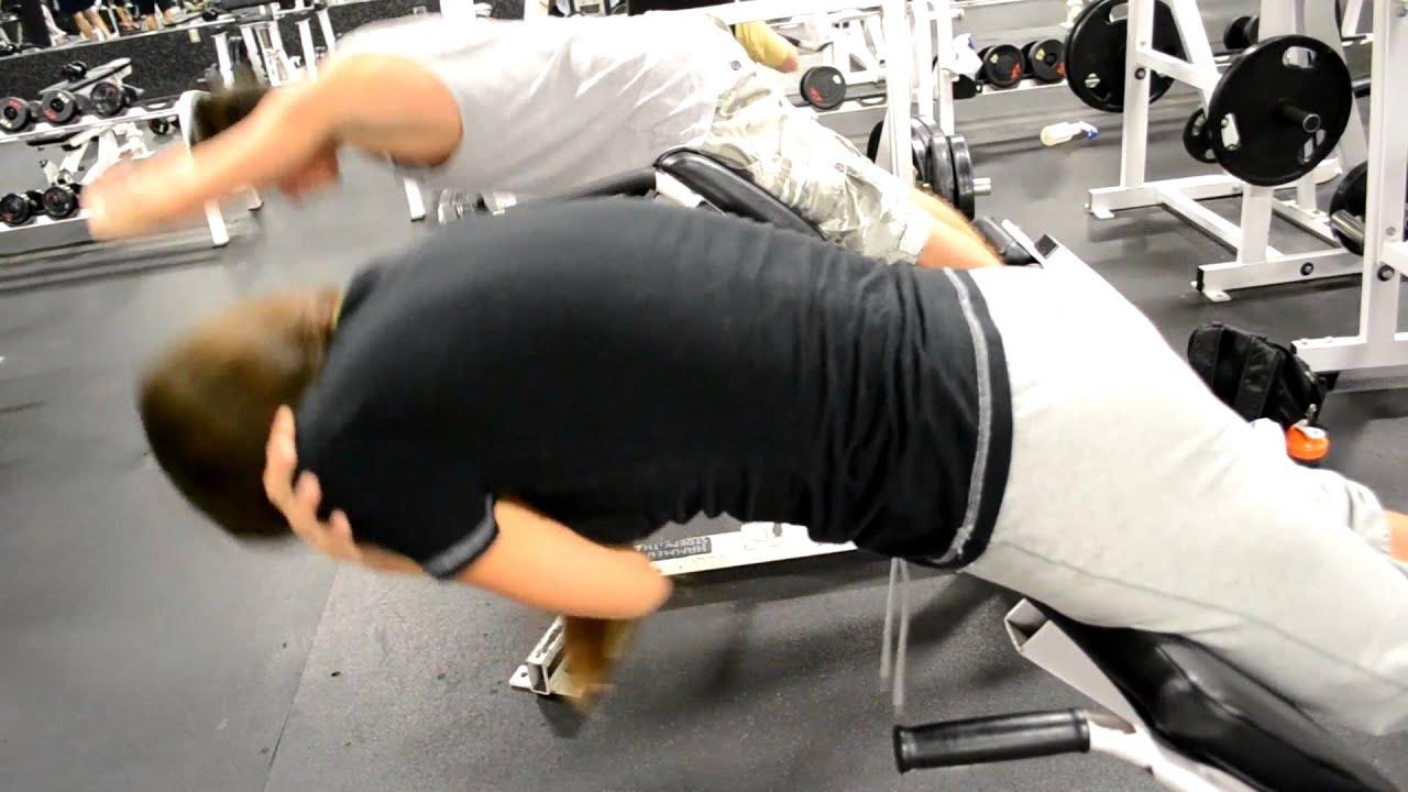 Упражнение гиперэкстензия - техника выполнения